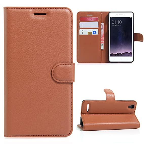 new styles 74909 c69c2 Amazon.com: for OPPO F1, Lifeepro Leather Cases Flip Cover with ...
