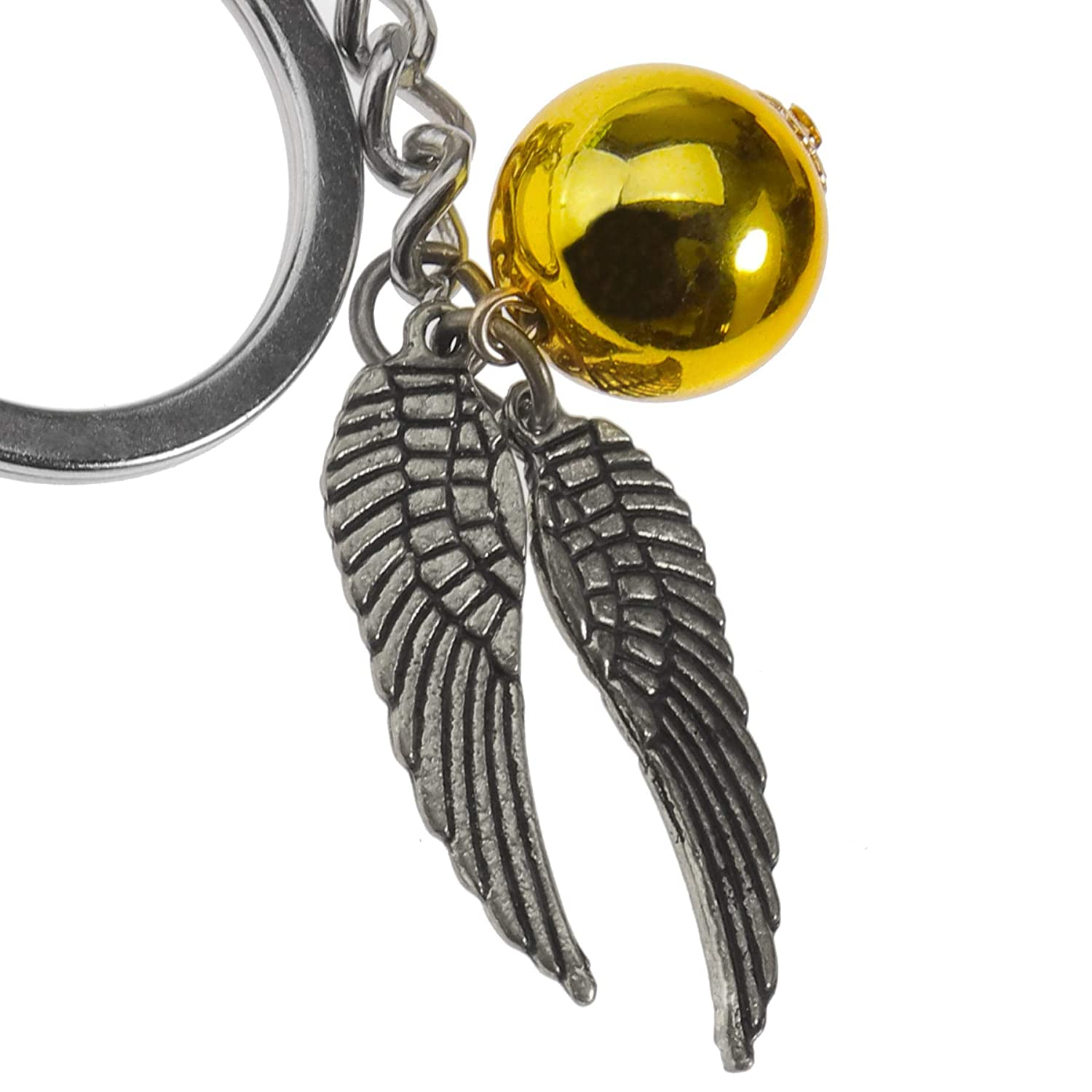 ENET Llavero Harry Potter Golden Snitch Puerta Llaves estaño ...