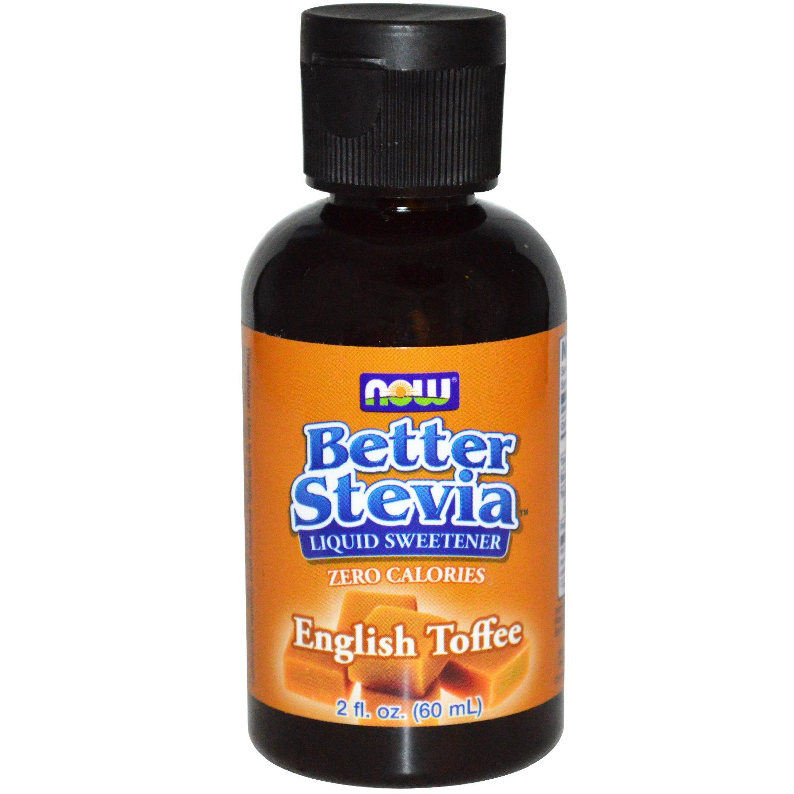 Better Stevia Liquid Sweetener English Toffee, English Toffee 2 fl oz (Pack of 6)