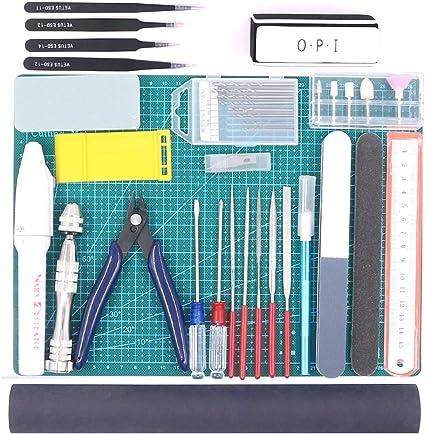 ZHIHU 16Pcs Modeler Basic Tools Craft Set Model Tool Kit for Gundam Hobby Model Assemble Building
