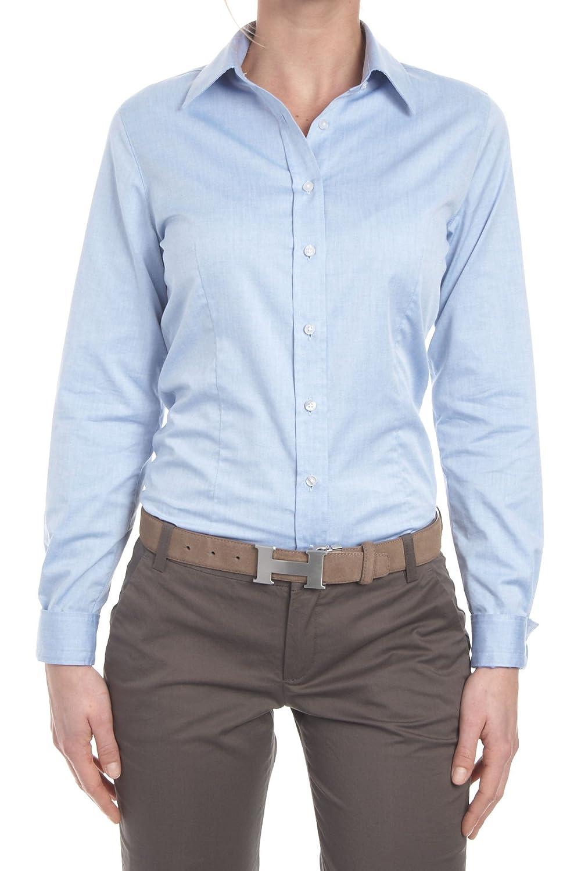 Anna David Ladies' Shirt , Color: Light Blue