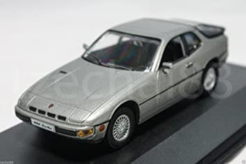 Amazon.com : 1:43 High Speed DIECAST Porsche 924 Turbo 1978 Car Grey Model COLLECTION New : Baby