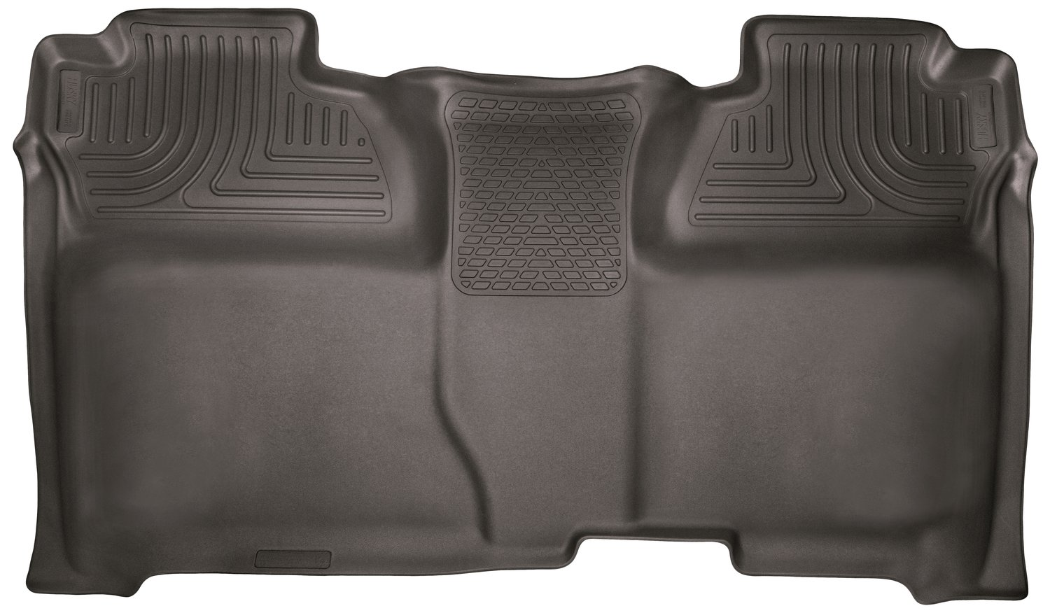 Husky Liners 53900 Cocoa Second Seat - Full Coverage Fits 14-18 1500, 15-19 Silverado/Sierra 2500/3500 Crew Cab by Husky Liners (Image #1)