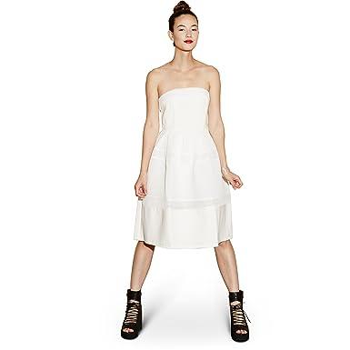308c55640c3f5 Elliatt Women's Underworld Strapless Dress, White, Size Large at ...