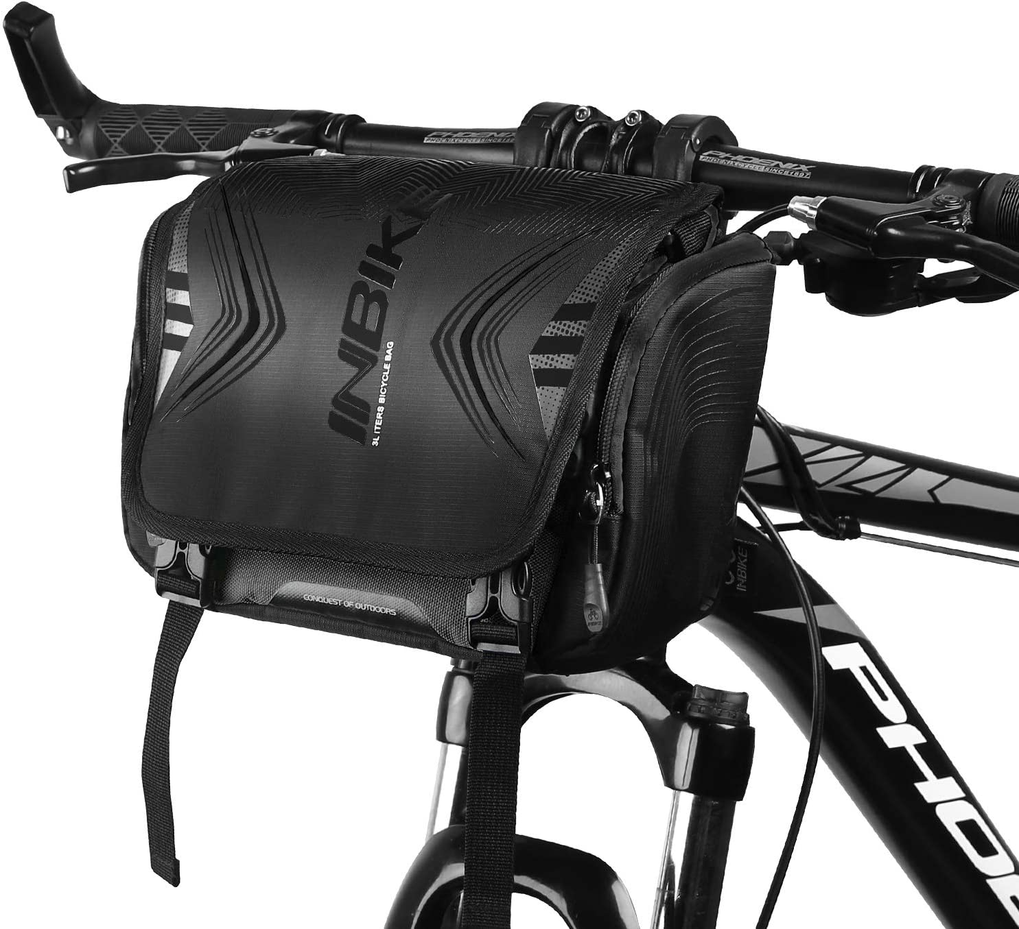 3L Bike Frame Bag Waterproof Bicycle Front Handlebar Pouch Cycling Pack Pannier