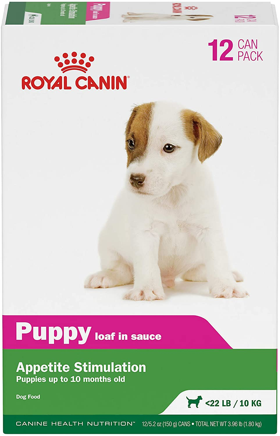 Royal Canin Canine Health Nutrition Puppy Loaf in Sauce Canned Dog Food, 5.2 oz Can (Pack of 12)