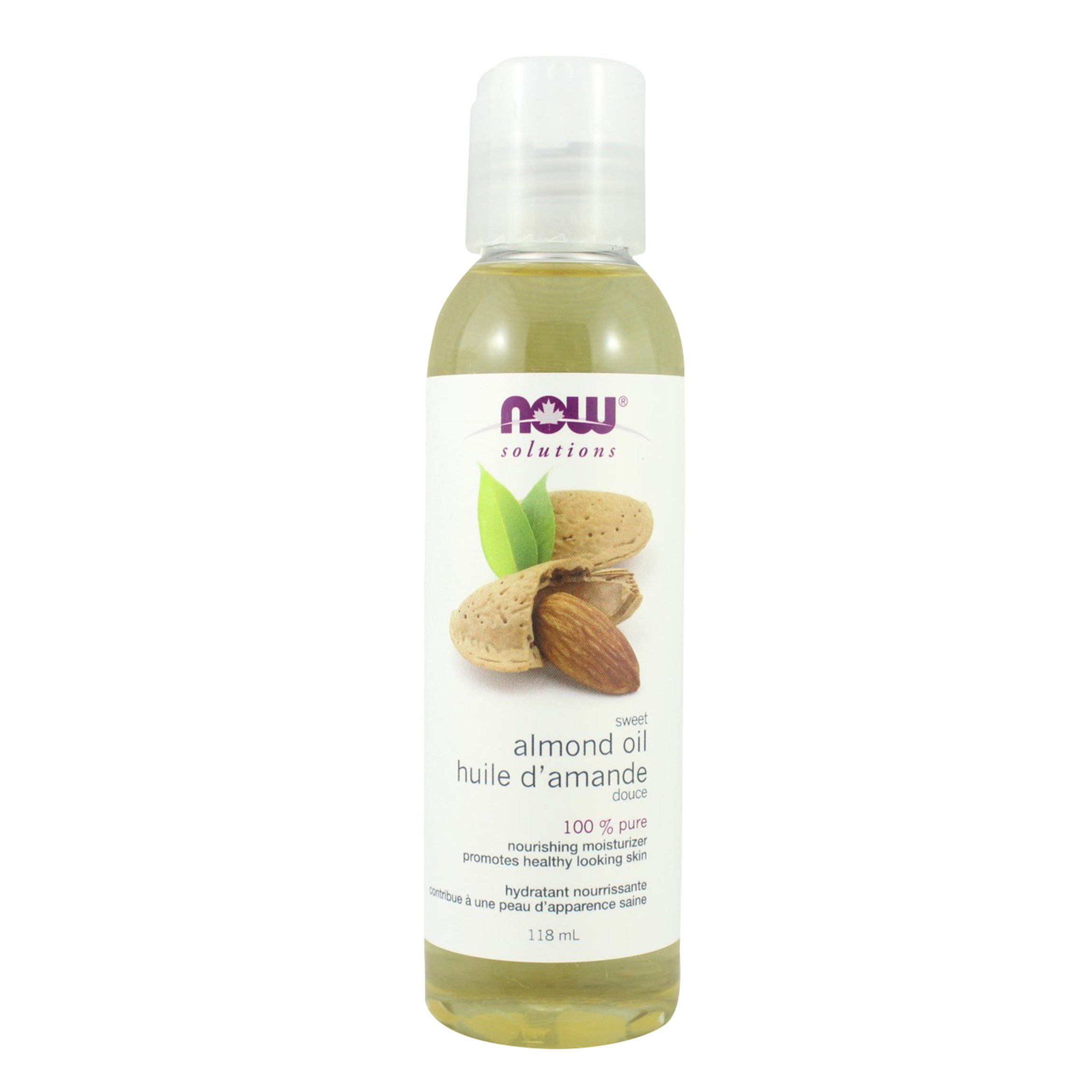 NOW Almond Oil Sweet Expellerpress 118ml by NOW