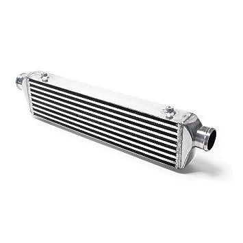Intercooler universal LLK Aluminium Turbo INTERCOOLER No.004: Amazon.es: Coche y moto