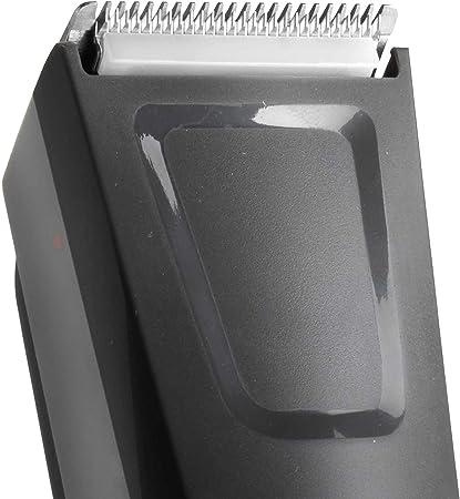 BaByliss MEN E786E Cortapelos eléctrico, cuchillas profesionales full metal, uso con/sin cable, 60 min autonomía, 12 longitudes de corte de 0.5 a 24 mm