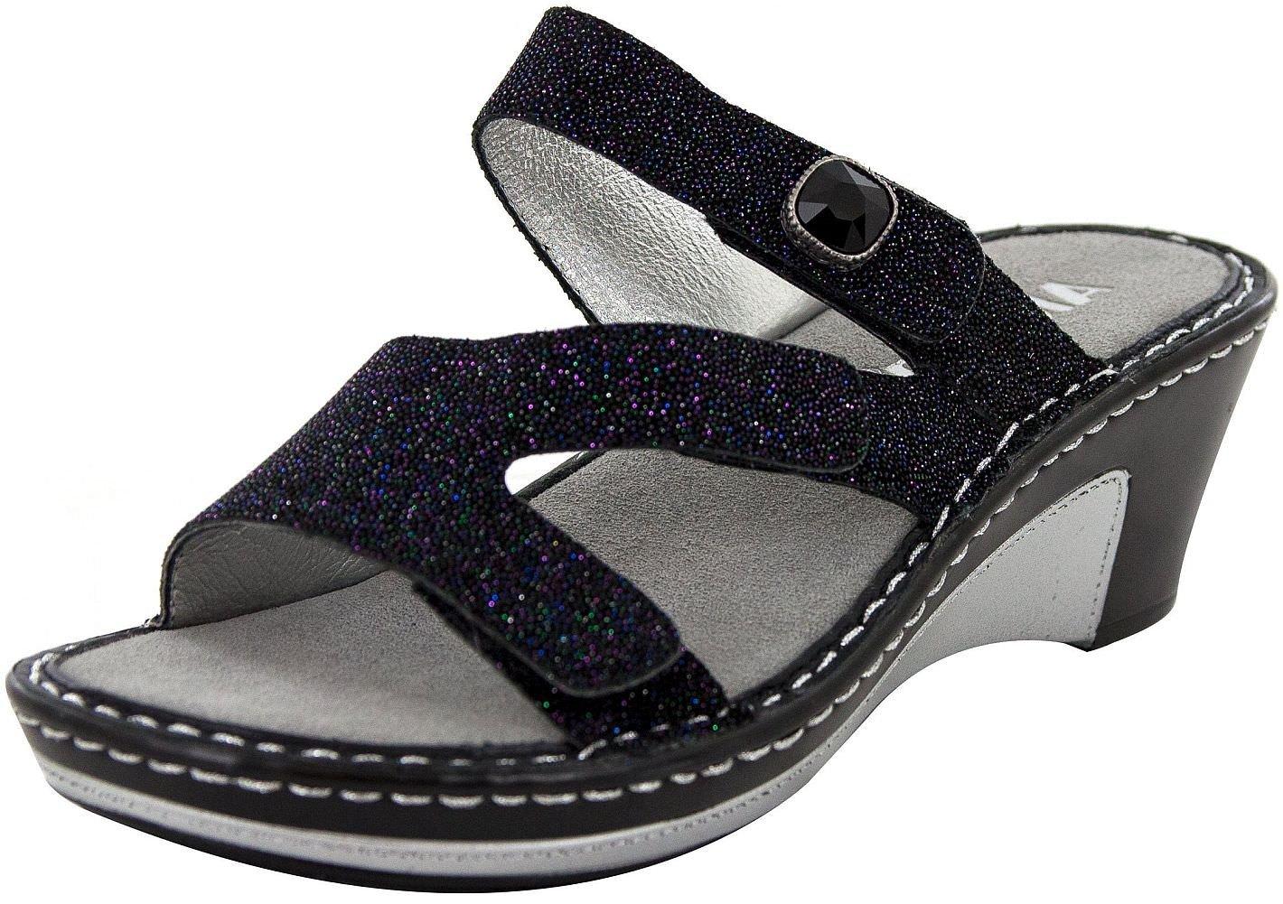 Alegria Womens Open Toe Casual Platform Sandals B079558NP2 4 B(M) US|Tectonic Tectonic 4 B(M) US