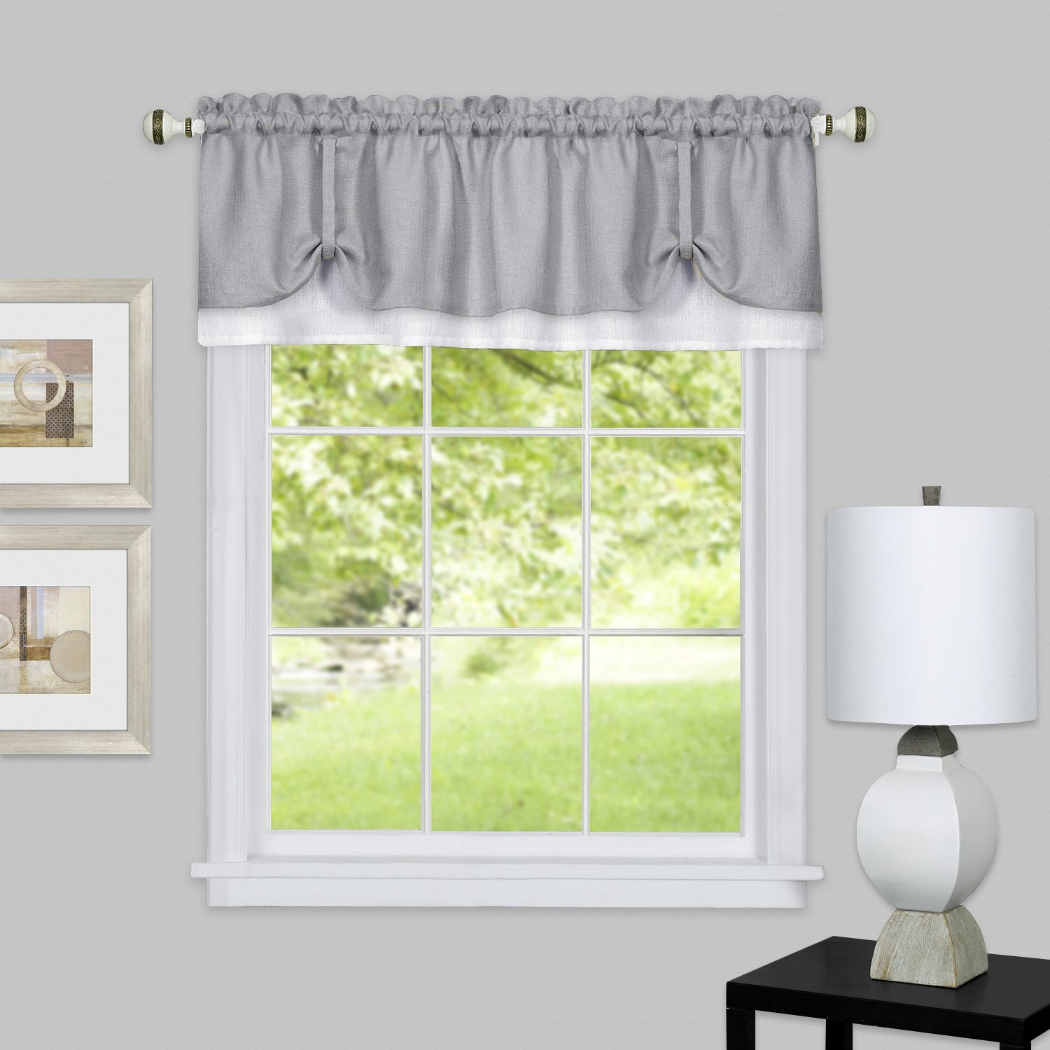 Darcy Window Curtain Valance 58x14 752675979315