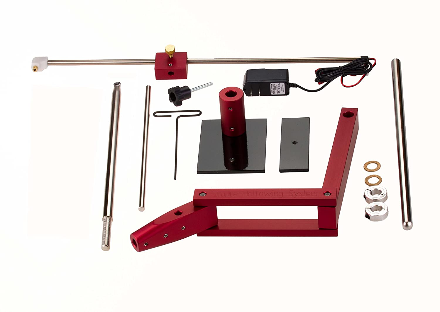 Accepts All Simple Woodturning Tools. SHS with Laser and STH SSNH SSCF 16 Simple Hollowing System