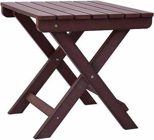 Shine Company 7109CB Folding Side Table