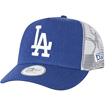 702d9b4cba5d New Era Heather Team Trucker Losdod Hly - Casquette ligne Los Angeles  Dodgers pour Homme