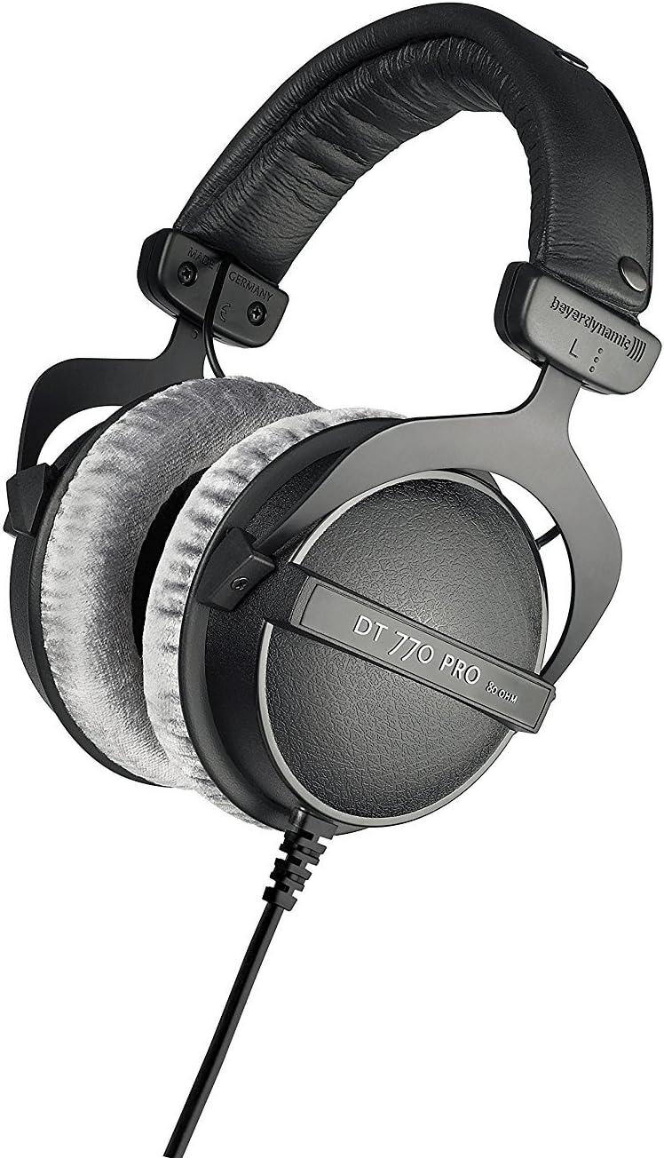 beyerdynamic DT 770 PRO 80 Ohm Over-Ear Studio Headphones myusamart