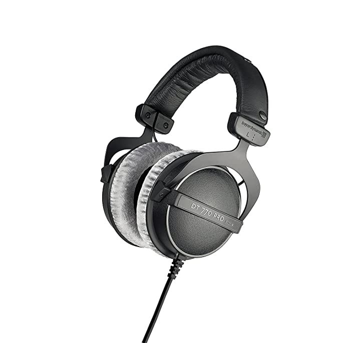 f4380823e2a beyerdynamic DT 770 PRO Studio Headphones - 80 Ohm: Amazon.co.uk: Musical  Instruments