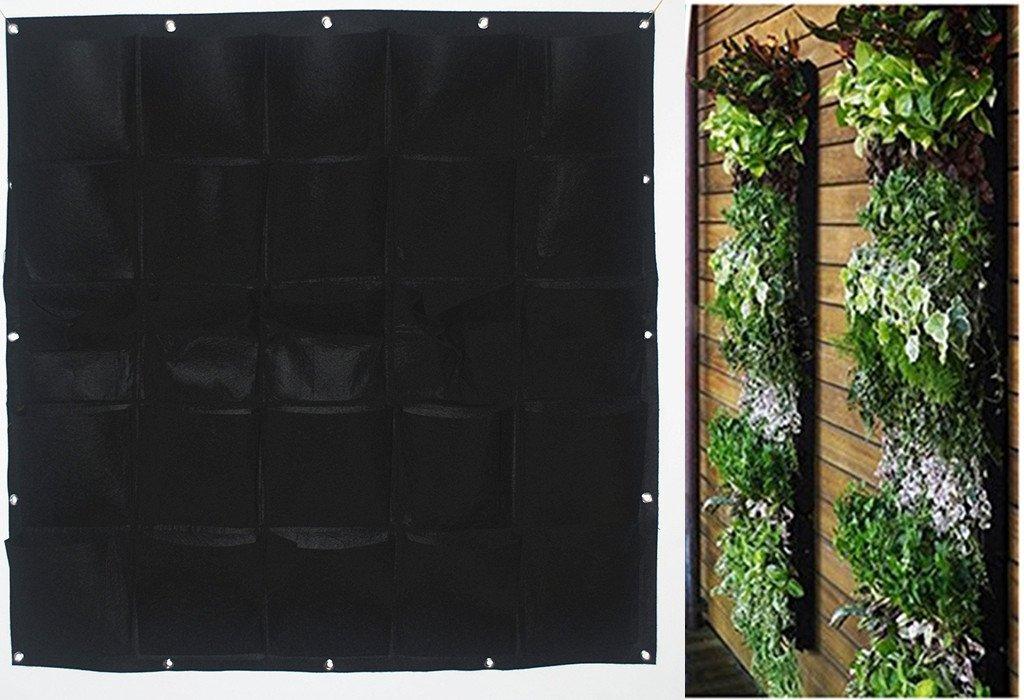 Wandhalterung f r pflanzen vertikale pflanztaschen von for Wandhalterung pflanzen