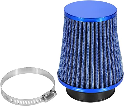 """BLUE 6/"""" Inlet 152mm Cold Air Intake Cone Universal TRUCK FILTER For GMC"""