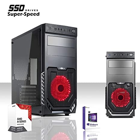 RANGO SSD PC DESKTOP JUEGO DE CUADROS CORE AMD A8 9600 3.4GHz / LICENCIA WINDOWS 10/625 WATT / RAM 8GB DDR4 2400 MHZ / SSD 240GB / AMD Radeon R7 / ...