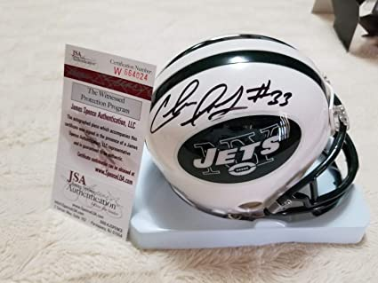 Chris Ivory Ny Jets Autographed Signed Mini Helmet Memorabilia - JSA  Authentic 70fce9b9f