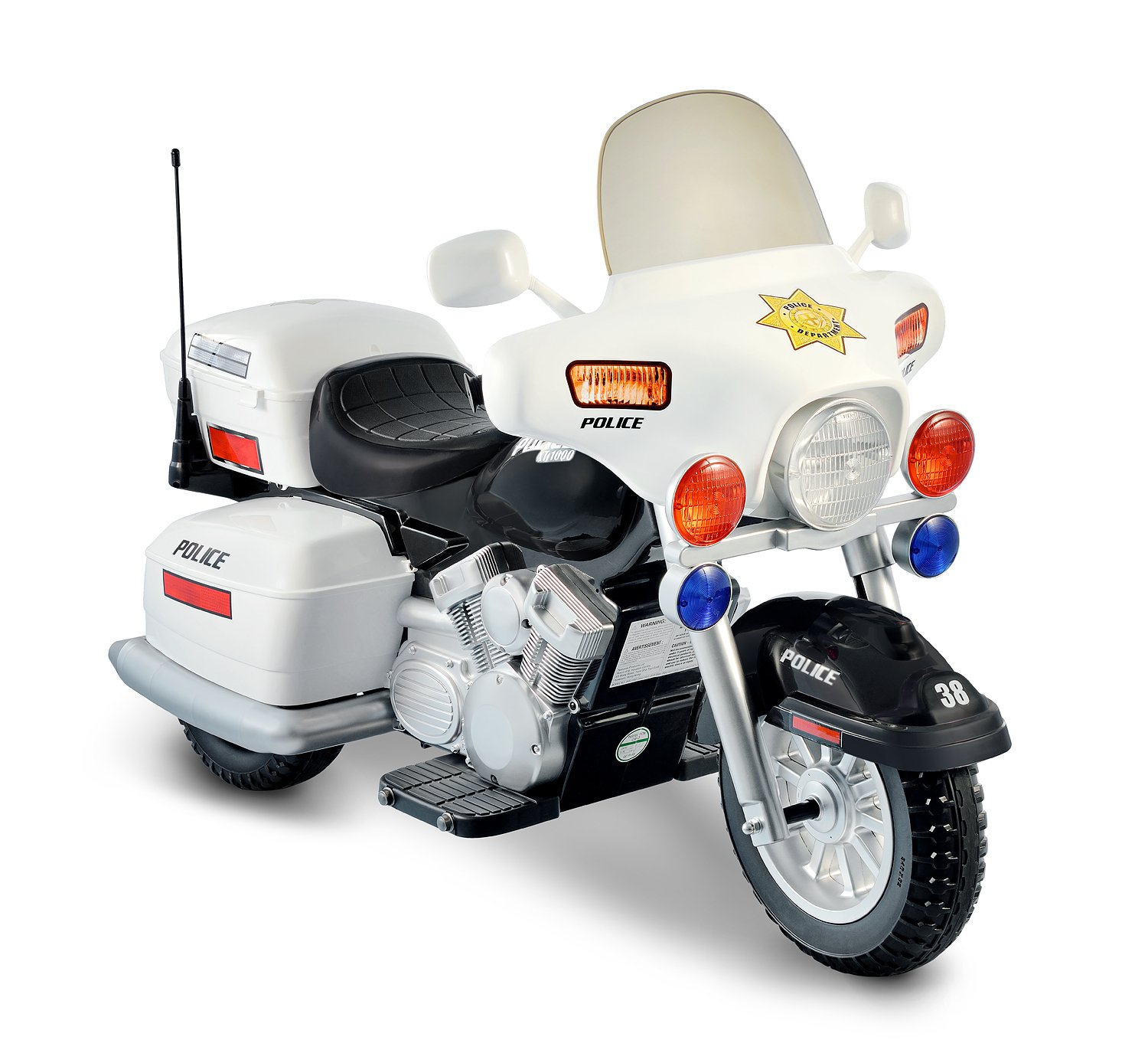12V Police Motorcycle by National Products (Image #1)