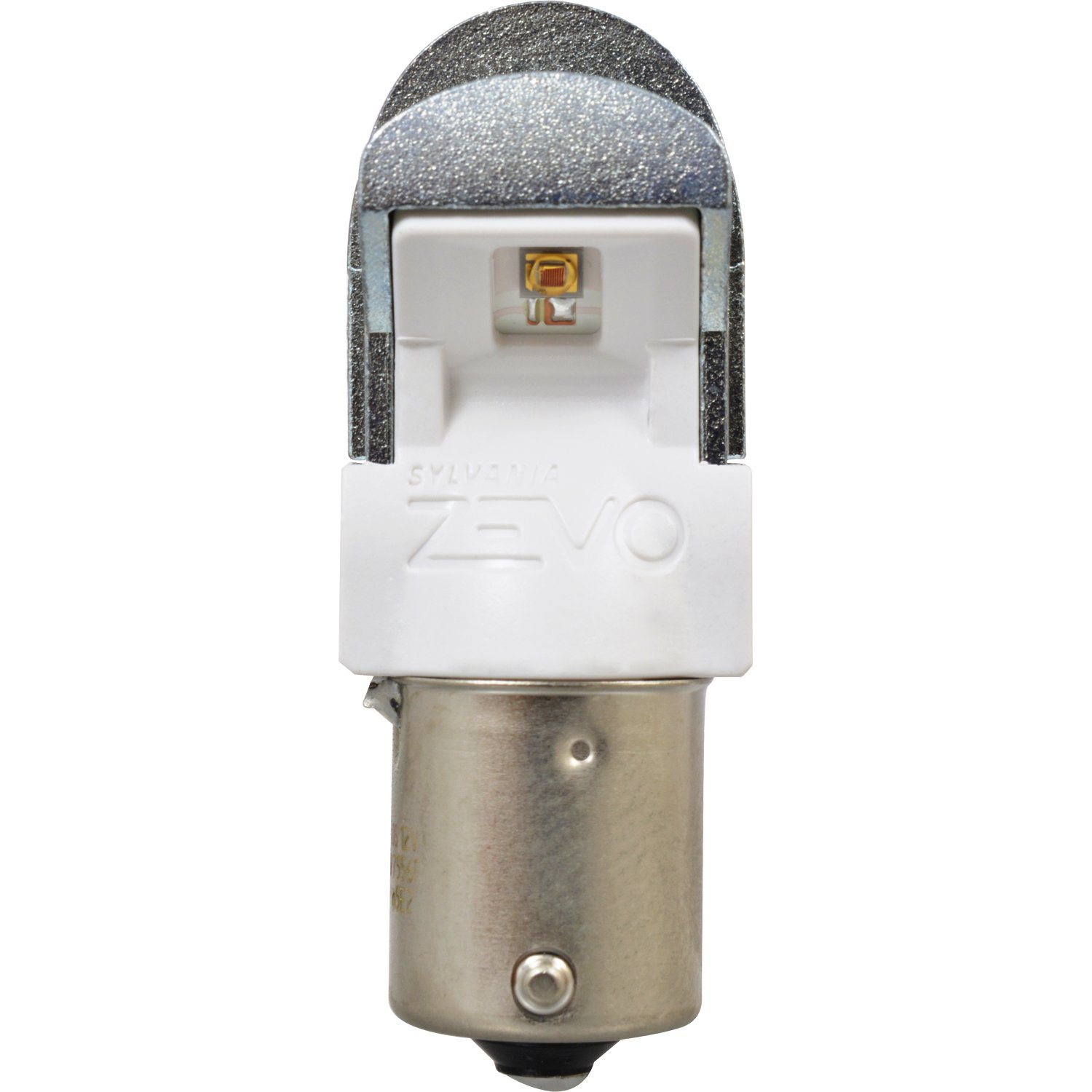 Bright LED Bulb 1156 ZEVO LED Red Bulb Ideal for Stop and Tail Lights SYLVANIA Contains 2 Bulbs