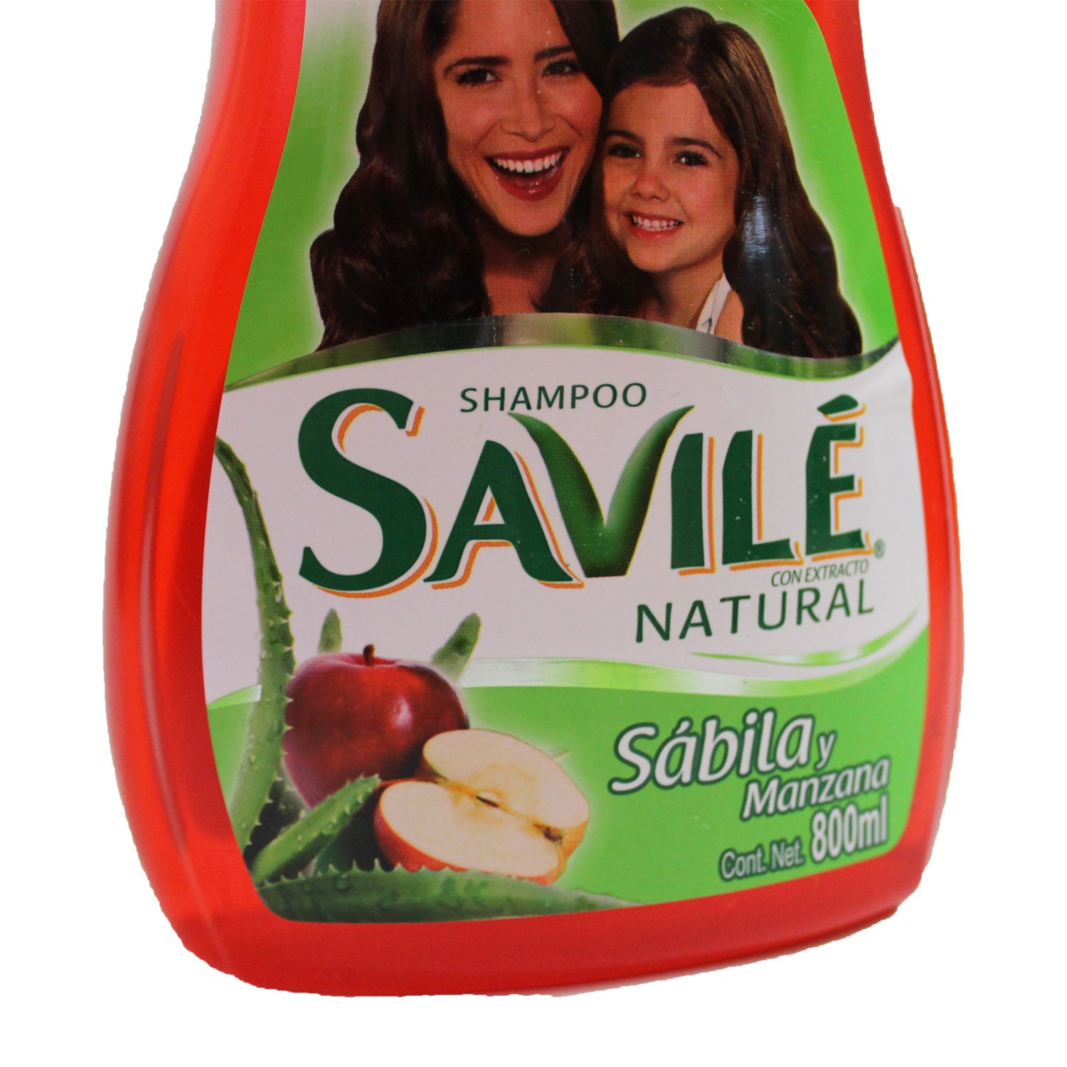 Amazon.com : Savile Shampoo with Aloe Pulp and Apple New 800ml/shampoo Con Sabila Y Manzana New 800ml : Beauty