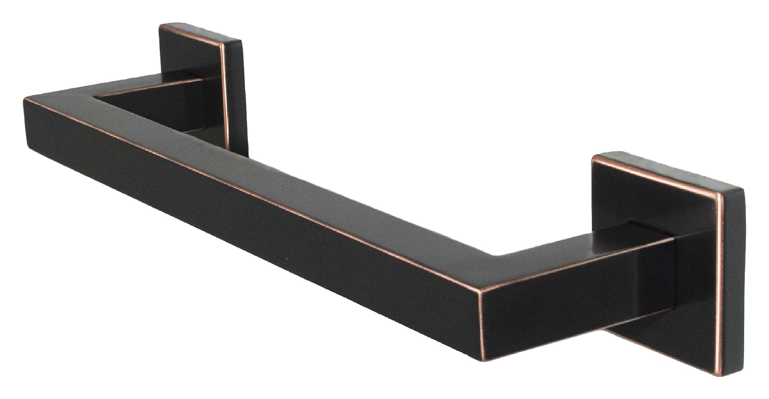 Preferred Bath Accessories 1012-ORB-MV Primo Collection Mitered Towel Bar, 12'', Oil Rubbed Bronze