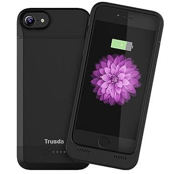 Funda Batería iPhone 6 / 6s / 7, Trusda MFi Certificada Case Carcasa con Batería Cargador-batería Externa Recargable 3100mAh para iPhone 6 / 6s / 7, ...