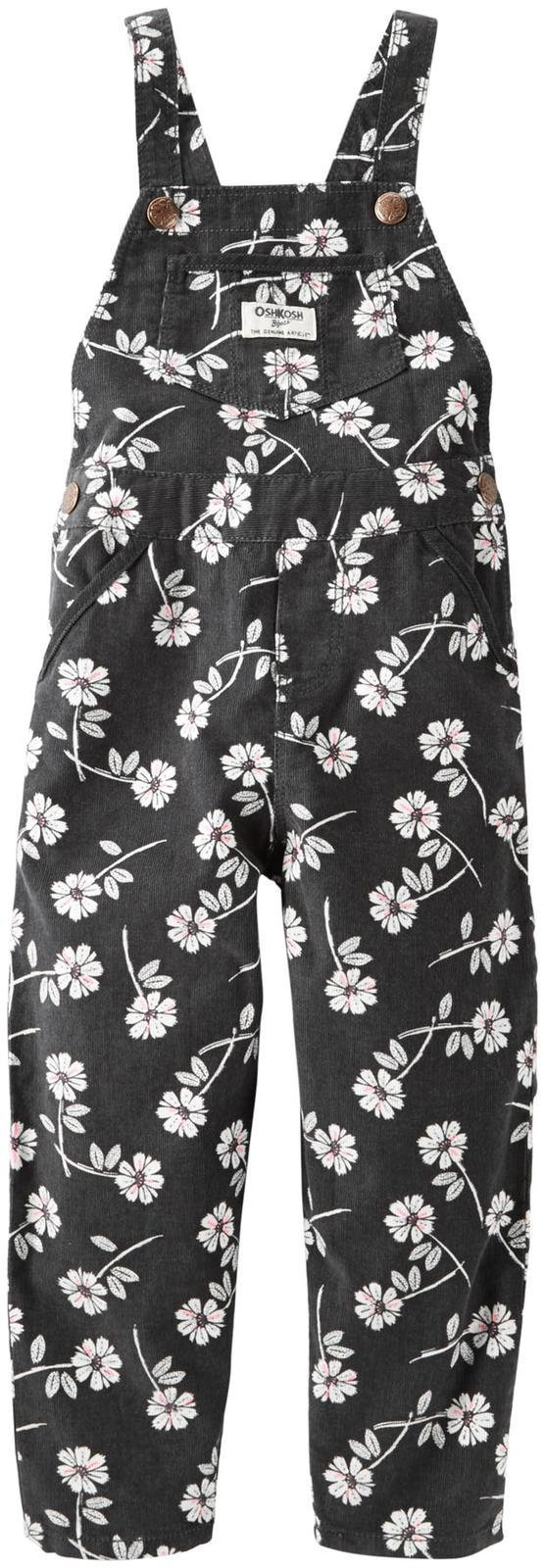 OshKosh B'Gosh Girls' Overall 21420411, Floral, 4T by OshKosh B'Gosh (Image #1)