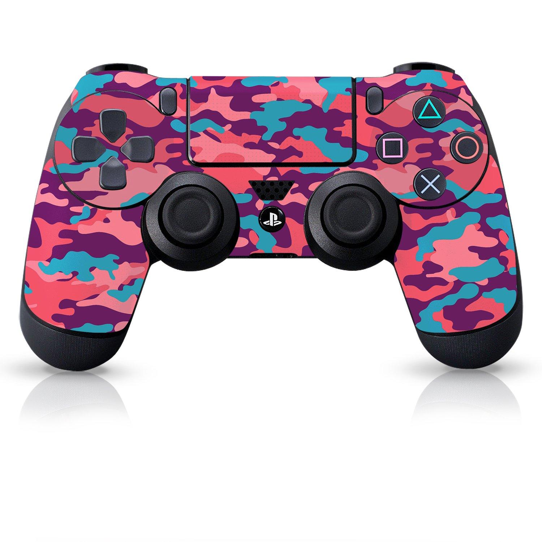 Controller Gear Skin de controlador con licencia oficial - Bubble Gum Camo - PlayStation 4