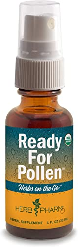Herb Pharm Herbs on The Go Portable Spray Certified Organic Ready for Pollen, 1 Ounce