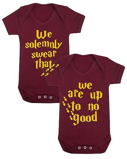 We solemnly swear Harry Potter Twin Set novedad Body para ...