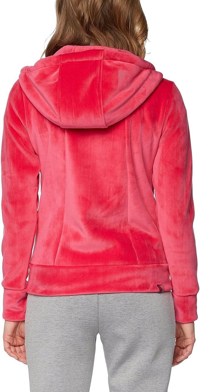 Bench Damen Core Fleece Zip Through Hoody Strickjacke