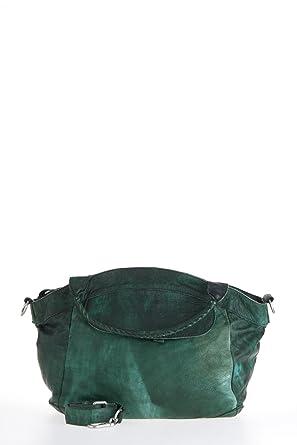 d206e07b9756 Liebeskind Berlin Tasche Model  GESA 2D, Color DARKGREEN  Amazon.de ...