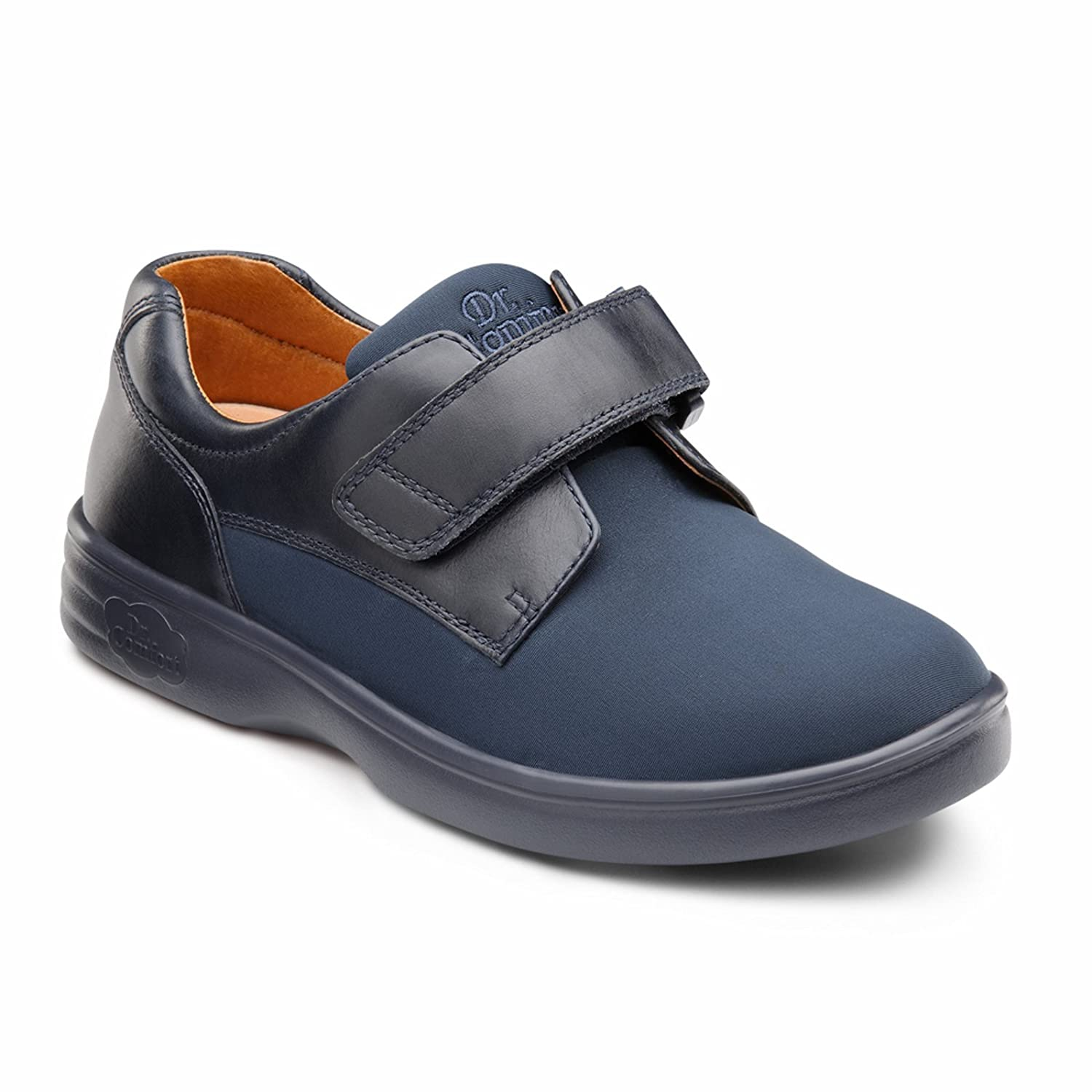 Dr. Comfort Annie Womens Casual Shoe B00IO80DFC 11.0 Wide (C-D) Blue Velcro US Woman|Blue