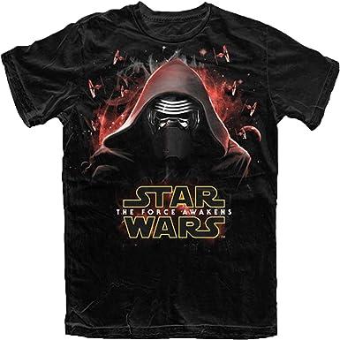 Star Wars boys el despertar de la fuerza Kylo Ren Attack T Shirt: Amazon.es: Ropa y accesorios
