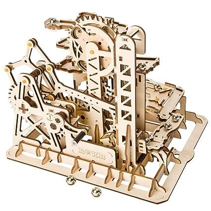 Amazoncom Lsqr D003 3d Diy Craft Wooden Puzzle Building Blocks