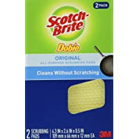 Scotch-Brite Dobie, All-Purpose Cleaning Pads, 12 Pads, Scours without Scratching