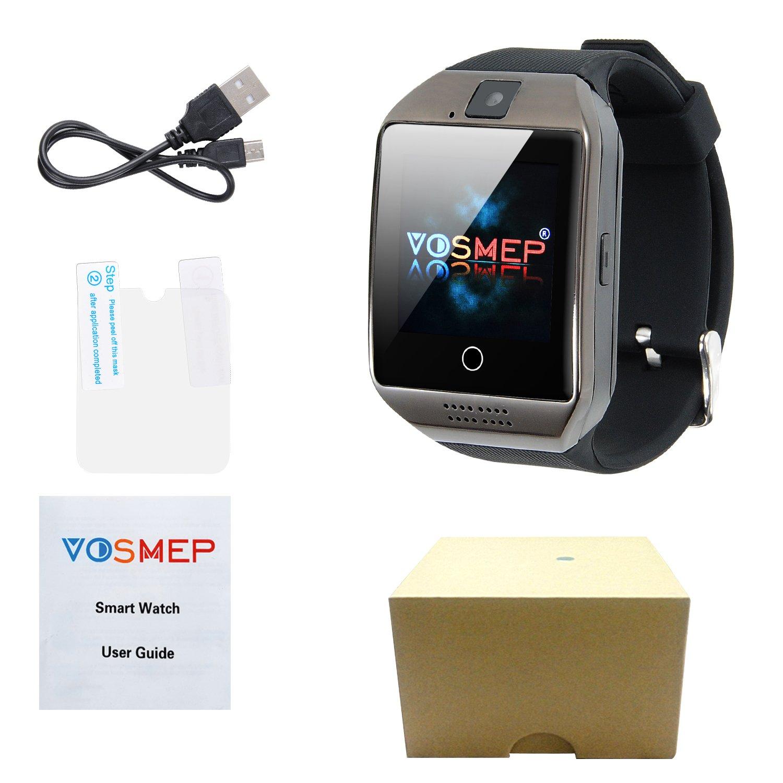 Smartwatch Reloj Inteligente VOSMEP Bluetooth 3.0 Teléfono Inteligente Pulsera Pantalla Cámara Táctil para Android Samsung HTC LG Huawei Xiaomi Reloj ...