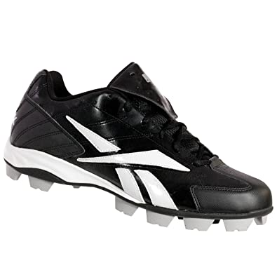 J01424 PRO HIGH N TIGHT LOW MRT Mens Baseball Cleats Black/White 12 M