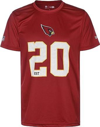 5ef11d0ca New Era NFL Team Supporters Herren T-Shirt Arizona Cardinals Rot   Amazon.de  Bekleidung