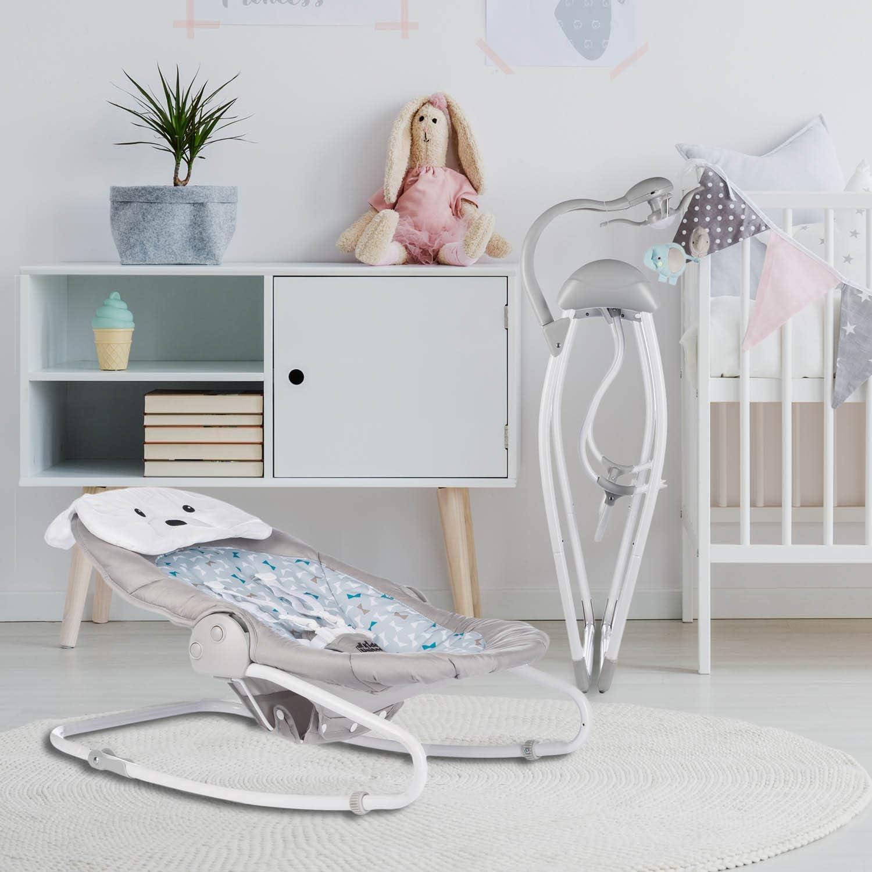 Fernbedienung Baby-Schaukel Schaukelwippe mit Mobile all kids United Elektrische Babywippe Deluxe extra Schaukelstuhl