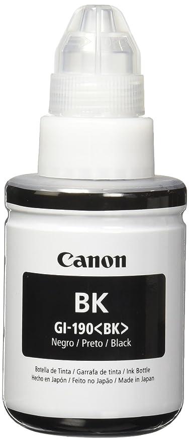 Canon GI 190 BK Tanque de Tinta, Color Negro