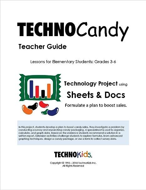 Amazon com : TechnoCandy: Spreadsheet Curriculum Unit for Kids