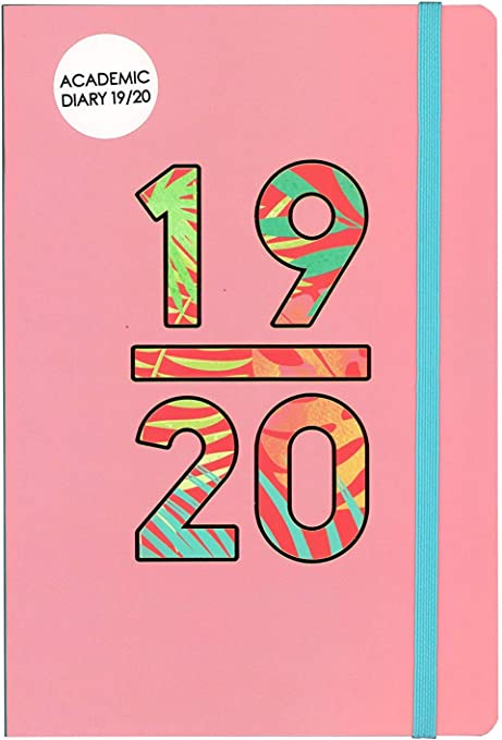 2019-2020 A5 Week to View Wiro Bound Academic Diary Planner 3095 Make Waves
