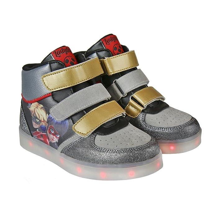 Ladybug , Mädchen Sneaker grau grau, grau - grau - Größe: 30