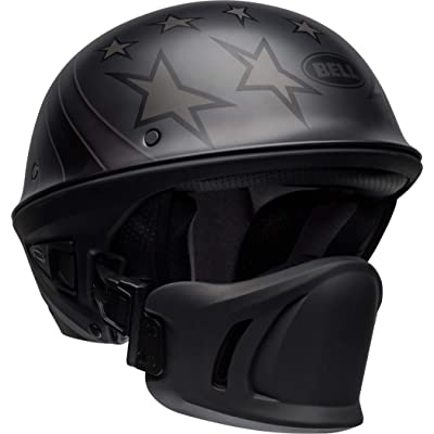 Bell Rogue Half-Size Motorcycle Helmet (Honor Matte Titanium/Black, X-Small): Automotive