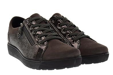 Enval soft Bas Chaussures pour Femmes avec des Baskets 89782 00 Plate-Forme  Anthracite eea17aa8716