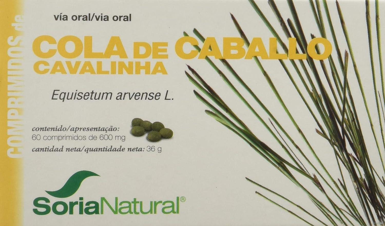 Soria Natural Cola Caballo - 60 Tabletas